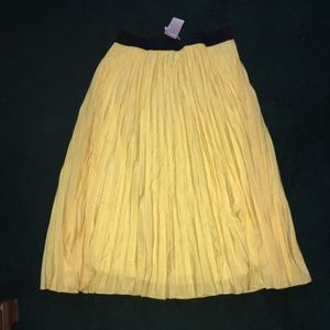 Simply Be Dresses & Skirts - Yellow maxi skirt size 18