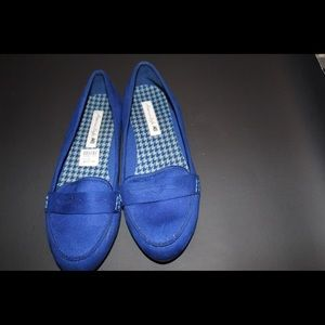 American Eagle by Payless Shoes - Royal blue flats. Never worn bought to big