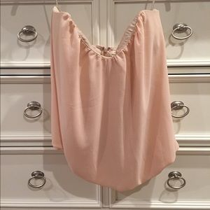 Paper Crown Tops - Paper crown strapless blouse