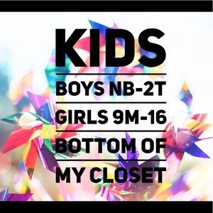 Added Often! New Kids Clothes at the Bottom