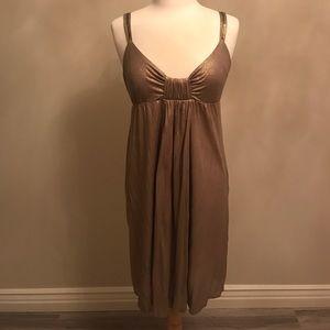 Velvet Dresses & Skirts - Velvet brand gold dress