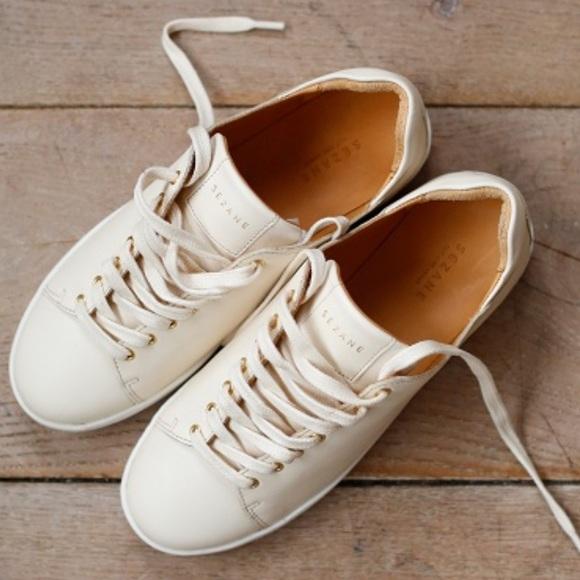 a7402eb271b382 Madewell Shoes | Nib Sezane Jack Sneakers Ecru 38 Fit 75 Best | Poshmark