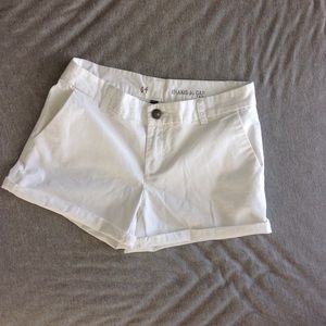 GAP Pants - Gap shorts khakis white pockets dressy size 4