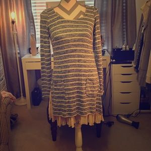 Altar'd State Striped Tunic/Dress