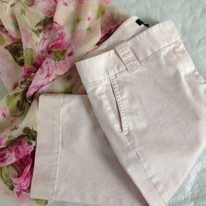 J. Crew Factory Pants - J. CREW Light Pink Capri Pants