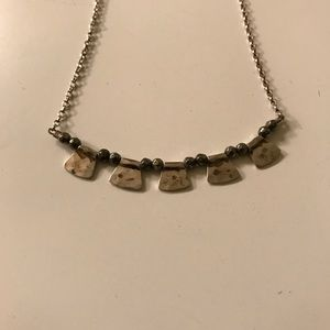 Silpada Jewelry - Silpada Patterned Pyrite necklace