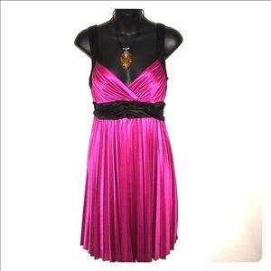 Jodi Kristopher Dresses & Skirts - Pretty in Pink pleated dress by Jodi Kristopher M