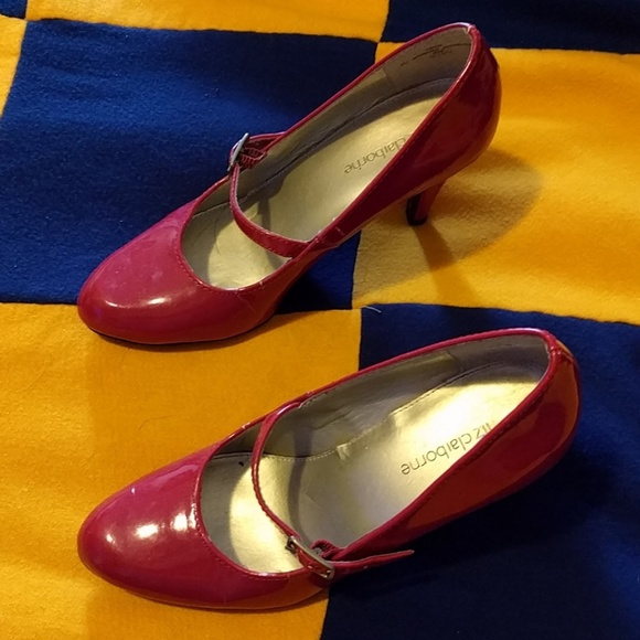 Liz Claiborne Shoes - SWAPPING! Red Patent Leather Shoes