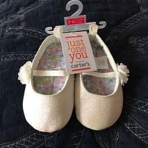 Carter's Other - NWT CARTERS INFANT MARY JANES 3-6 MONTHS