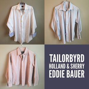 Tailorbyrd Other - 3 Designer Shirt Bundle EUC