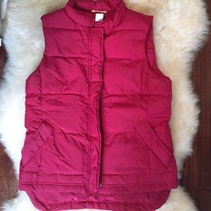 Jcrew puffy vest
