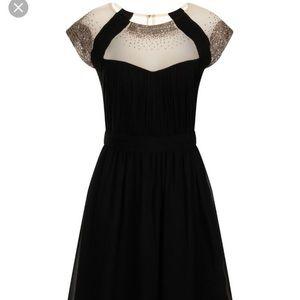 Little Mistress Dresses & Skirts - Little Mistress Black Sparkle A-Line Dress