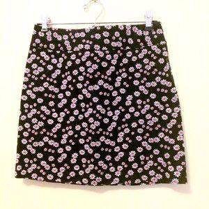 Esprit Dresses & Skirts - ESPRIT Navy Daisy Summer Skirt - nearly vintage!