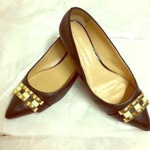 Banana Republic Shoes - Banana Republic Flats with Gold hardware