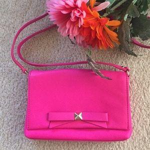 kate spade Handbags - Pink Mini Bow Cross-body Purse
