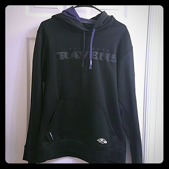 the latest 29bcf 10e7a Nike Baltimore Ravens Hoodie