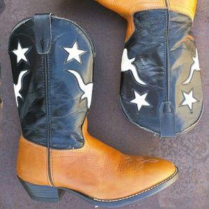 Laredo Shoes - Vintage Laredo Boots / ?? / leather Cowboy boots