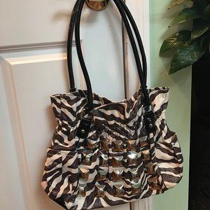 Kathy Van Zeeland Handbags - Zebra Kathy Van Zealand purse.