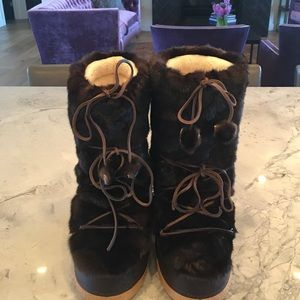 Bogner Shoes - Bogner winter fur boots