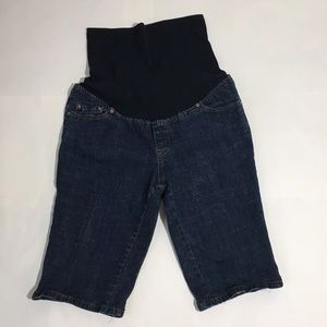 Duo Maternity Pants - Duo Maternity Bermuda Shorts Full Panel Size M