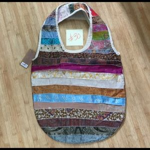 fef095ec81e4 Bags - Upcycled Sari Bag from India - One of a Kind -  30