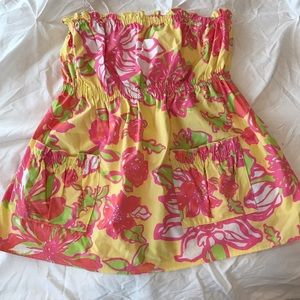 Lilly Pulitzer Strapless Blouse