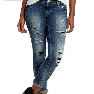 Maurices Denim - Maurices Denim Flex Skinny Boyfriend Jeans