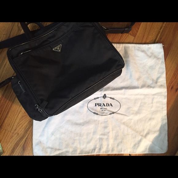 05ba5bd2b920 ... PRADA Tessuto Diaper Bag. M_58dfdcee4e8d1740e103eddc