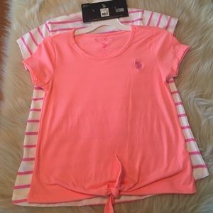 U.S. Polo Assn. Other - NWT polo shirts for girls