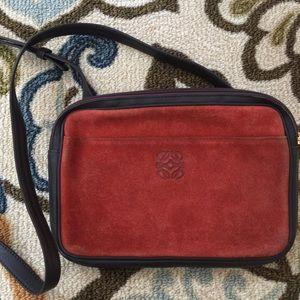 Loewe Handbags - REDUCED‼️LOEWE Madrid orange suede cross-body bag