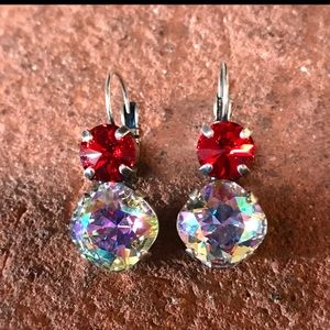 Jewelry - Handcrafted earrings with Swarovski crystal #130