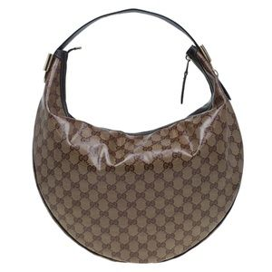 Gucci GG Crystal Coated Duchessa Hobo