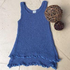 Tops - Loose knit sweater tank top