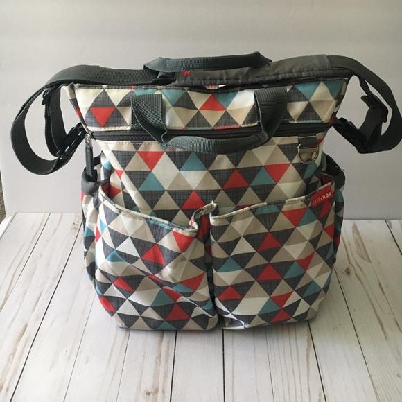 Skip Hop Handbags - Skip Hop Duo Signature Bag