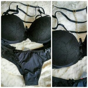 Other - NWT Brazilian Strappy Bra and Panty Set