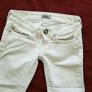 Daytrip Denim - Daytrip Aries White Skinny Jeans