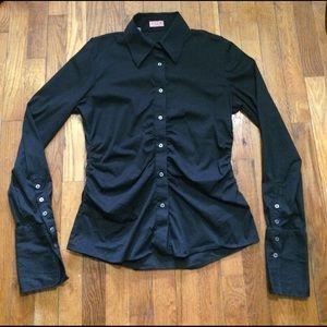 Thomas Pink Tops - Thomas Pink Womens Dress Shirt Size 12 Black