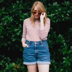 Levi's Pants - Vintage Levi's High Waisted Denim Shorts
