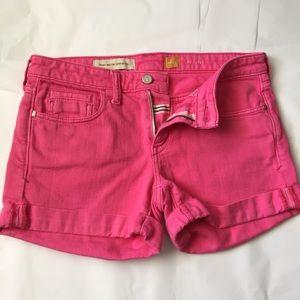 Anthropologie Pants - Anthropologie Pilcro Pink jean shorts!