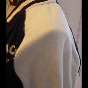 Aeropostale Jackets & Coats - Aeropostale Navy and White Varsity Jacket Sz S