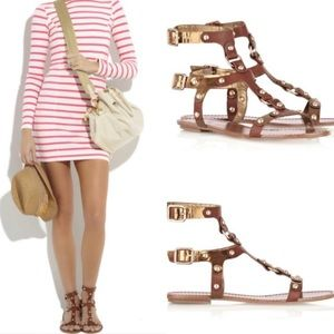 Belle by Sigerson Morrison Gladiator Sandals