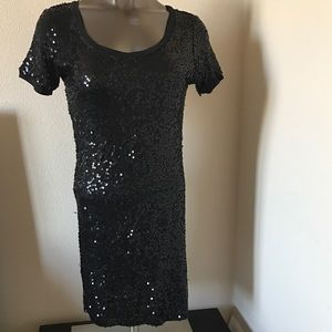 Chaudry Dresses & Skirts - Chaudry Sequin Tshirt Dress