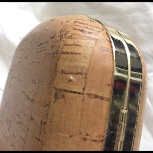 Charming Charlie Bags - NWT 🍍🍍🍍 Cork Pineapple Box Clutch 👛