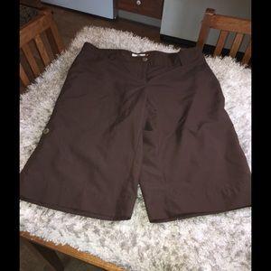 Weatherproof Pants - Weatherproof Brown Shorts Size 12