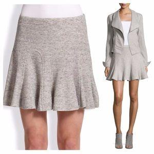 10 Crosby Derek Lam Dresses & Skirts - 10 Crosby Derek Lam gray swing skirt