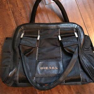 Diesel Handbags - Authentic Diesel Black Purse