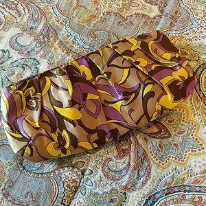 Handbags - Scarf print clutch