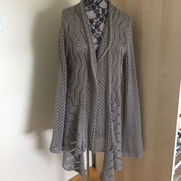 c3de230d201 Dress Barn Sweaters - Dress Barn crochet cardigan