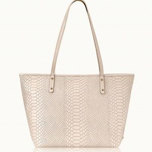 Zip mini Taylor Tote from GiGi New York in python