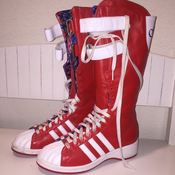 b1ba31c7dfb Adidas Shoes - Missy Elliot Adidas Originals Shell Toe Boots